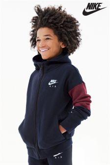 Bluza z kapturem zapinana na suwak Nike Air