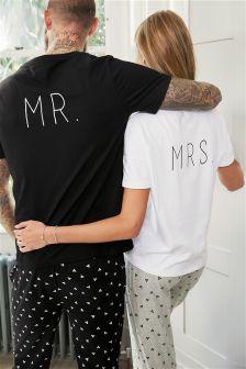Mrs Slogan Pyjamas (Womens)