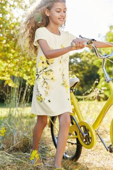 Floral Printed Dress (3-16yrs)