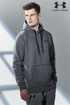 Under Armour Gym Carbon Heather Rival Hoody