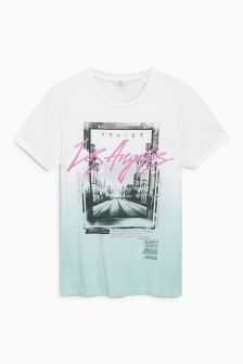 Los Angeles Dip Dye T-Shirt