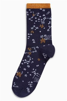 Star Bauble Ankle Socks One Pack