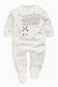 Daddy Character Sleepsuit (0-18mths)