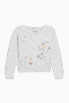 精美刺绣开衫 (3个月-6岁)