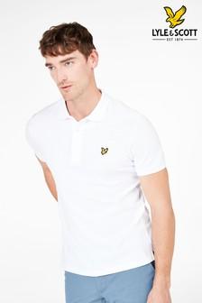 قميص بولو بكم قصير من Lyle & Scott