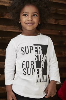 Long Sleeve Embossed T-Shirt (3mths-6yrs)
