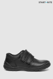 Start-Rite Black Engineer Shoe