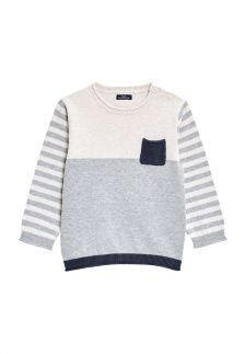 Colourblock Roll Hem Sweater (3mths-6yrs)