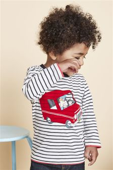 Stripe Postman Pat Long Sleeve T-Shirt (3mths-6yrs)