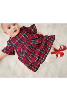 Платье с рукавами-оборками (0 мес. - 2 лет)