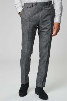 Текстурированные зауженные брюки