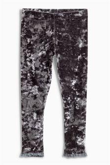 Crushed Velvet Leggings (3-16yrs)