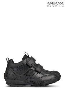 Geox J Black Savage Shoe