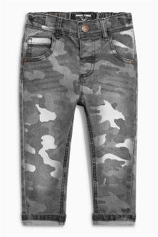 Camo Print Jeans (3mths-6yrs)