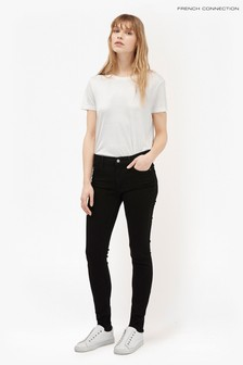 French Connection Black Rebound Skinny Jean
