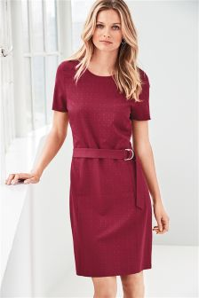 Belted Workwear Dress