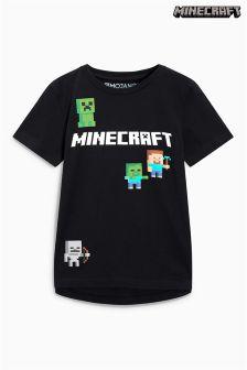 Футболка с надписью Minecraft (4-14 лет)