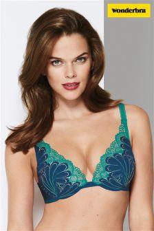 Wonderbra® Seabottom Blue Refined Glamour Triangle Bra