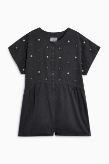Pearl Effect Playsuit (3-16yrs)