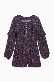 Ruffle Playsuit (3-16yrs)
