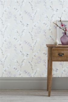 Paste The Wall Blossom Floral Wallpaper