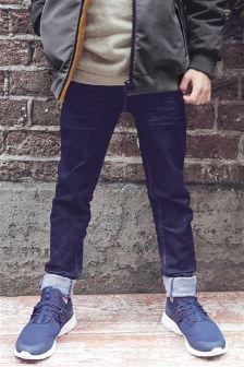 超强弹力紧身牛仔裤 (3-16岁)