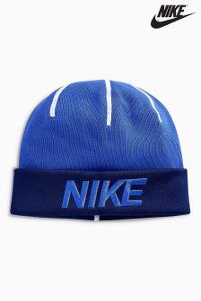 Nike Blue Training Beanie