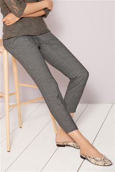 Textured Taper Trousers