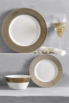 12 Piece Fitzroy Dinner Set