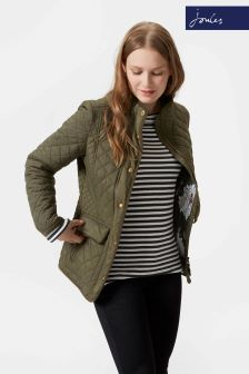 Joules Green Quilted Newdale Jacket