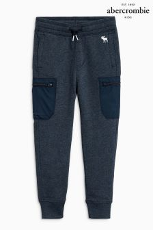 Abercrombie & Fitch Navy Cargo Jogger