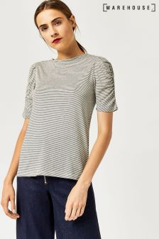 Warehouse Black Stripe T-Shirt