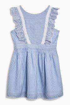 Ticking Stripe Dress (3-16yrs)