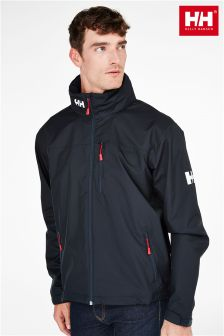 Helly Hansen Navy Crew Hooded Jacket
