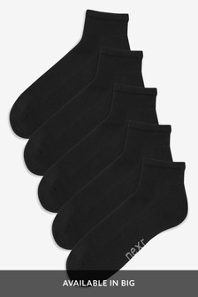 Mid Cut Sports Socks Five Pack
