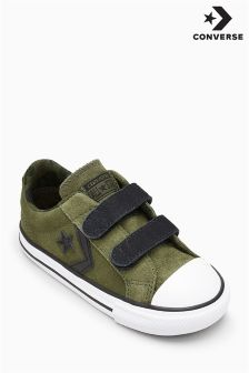 Converse Khaki/Camo Star Player Ox Velcro