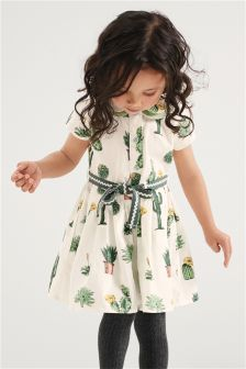 Cactus Print Dress (3mths-6yrs)