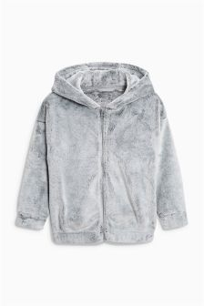 Super Soft Hooded Zip Through (3-16yrs)