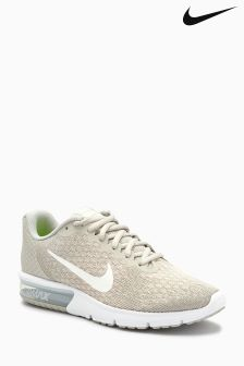 Nike Grey Air Max Sequent 2