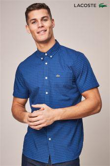 Lacoste® Marino/King Gingham Shirt
