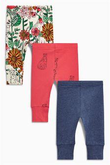 打底裤三件装 (3个月-6岁)
