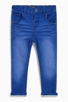 Five Pocket Jersey Denim Jeans (3mths-6yrs)
