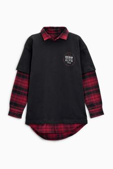Mock Layer T-Shirt (3-16yrs)