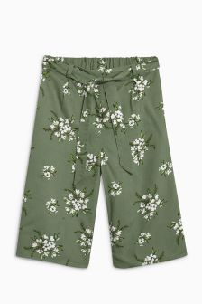Floral Culottes (3-16yrs)