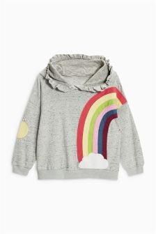 Rainbow Hoody (3mths-6yrs)