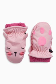 Character Ski Mitts (Younger Girls)
