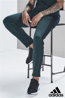 adidas Green Night Essential 3 Stripe Jogger
