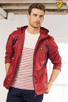 Lyle & Scott Red Lightweight Jacket