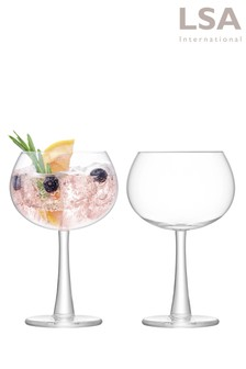 Set Of 2 LSA Balloon Glasses