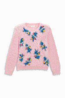 Girls Christmas Elf Sweater (3-16yrs)